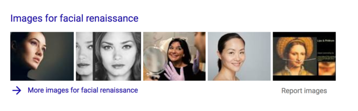 it's always good to google the search terms you want people to find you with