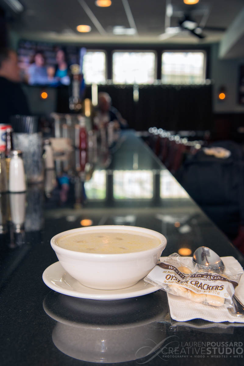 food photography danvers boston beverly lpcs clam chowder three cod tavern